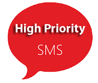 Highpriority sms service provider